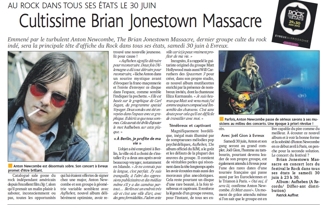 BJM - Le D+�mocrate juin12