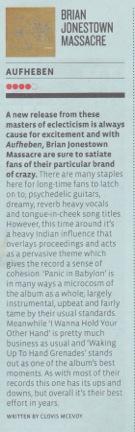 Brian Jonestown Groove Guide May 10 2012