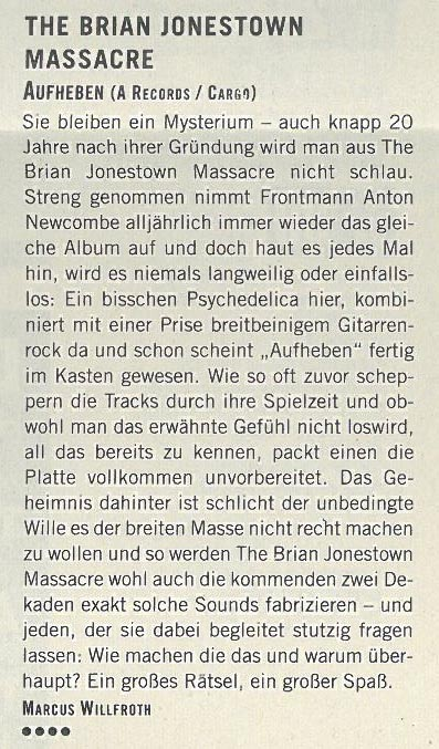 BrianJonestownMassacre_Review_Westzeit
