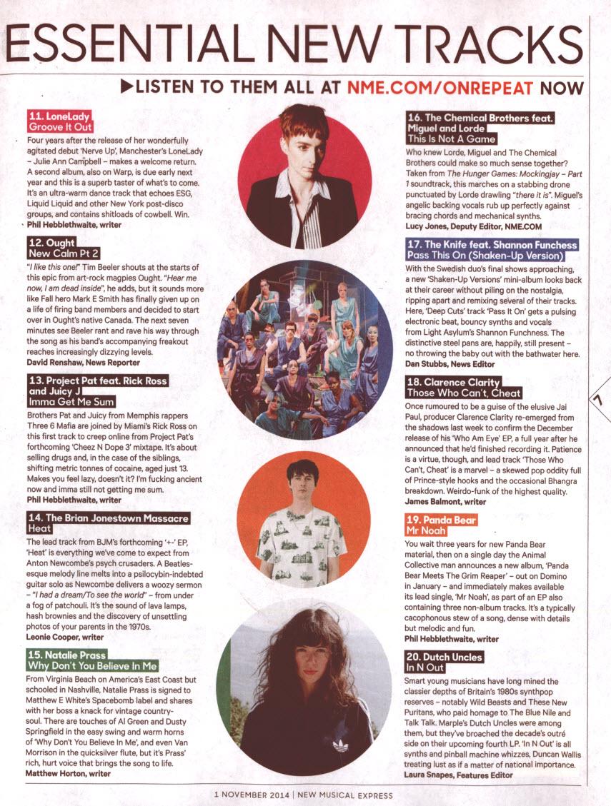 NME__1st November 14